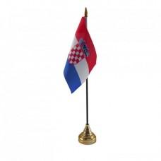 Хорватія настільний прапорець
