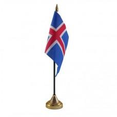 Ісландія настільний прапорець