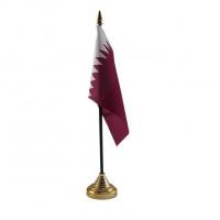 Катар настільний прапорець
