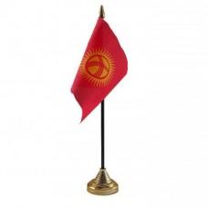 Кыргызстан настольный флажок