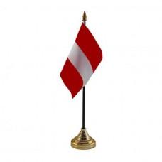 Латвия настольный флажок