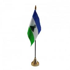 Лесото настільний прапорець
