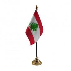 Купить Ліван настільний прапорець в интернет-магазине Каптерка в Киеве и Украине