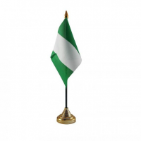 Нигерия настольный флажок