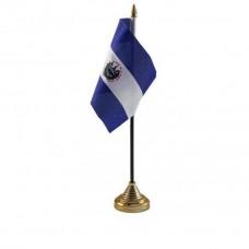 Сальвадор настільний прапорець