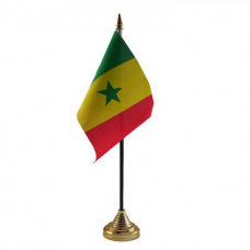 Сенегал настільний прапорець