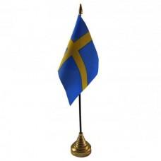 Швеція настільний прапорець