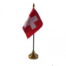 Швейцарія настільний прапорець