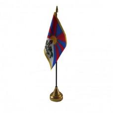 Тибет настільний прапорець