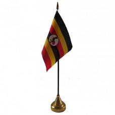 Уганда настільний прапорець