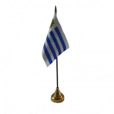 Уругвай настольный флажок