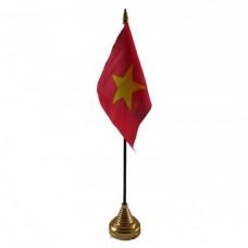 Купить В'єтнам настільний прапорець в интернет-магазине Каптерка в Киеве и Украине