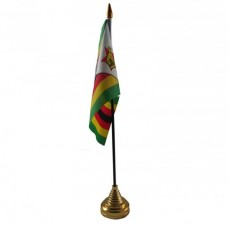 Зімбабве настільний прапорець