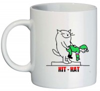 Керамічна чашка КІТ-КАТ