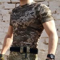 Футболка Coolmax украинский пиксель АКЦИЯ на остатки