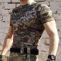 Футболка Coolmax украинский пиксель