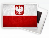 Магнітик прапор Польщі
