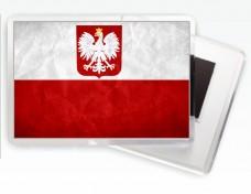 Купить Магнітик прапор Польщі в интернет-магазине Каптерка в Киеве и Украине