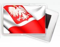 Магнитик флаг Польши