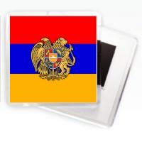 Магнітпрапор Вірменії з гербом