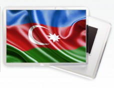 Магнитик флаг Азербайджана