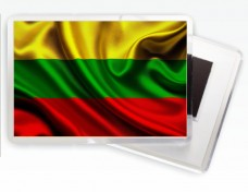 Магнитик флаг Литвы