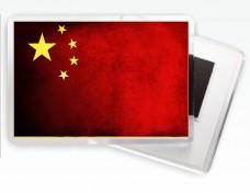 Купить Магнитик флаг Китая в интернет-магазине Каптерка в Киеве и Украине