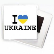 Магнит I love Ukraine