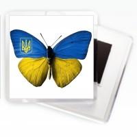 Магніт Бабочка Україна