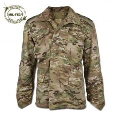 Куртка М65 MIL-TEC Multicam с подкладкой