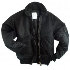 Купить Куртка пилот CWU  MIL-TEC черная. Акция  в интернет-магазине Каптерка в Киеве и Украине
