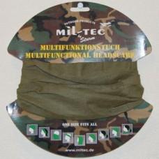 Бандана-балаклава-шарф-труба Mil-Tec цвет олива