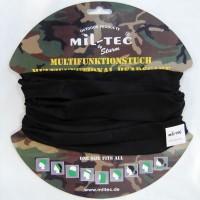 Черная бандана-балаклава-бафф Mil-Tec