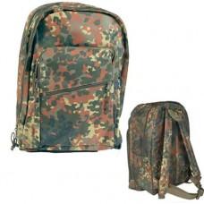 Купить 25л городской рюкзак Mil-tec камуфляж flecktarn 14003021 в интернет-магазине Каптерка в Киеве и Украине
