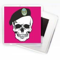 Морская пехота Украины магнитик (череп)