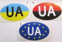 Наклейка UA Евросоюз