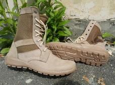 Облегченные летние ботинки берцы светлые CTEP