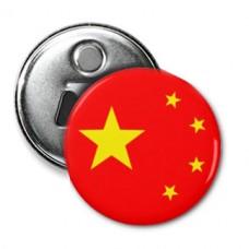 Открывашка с магнитиком Флаг Китая