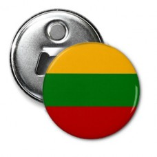 Купить Відкривачка з магнітиком Прапор Литви в интернет-магазине Каптерка в Киеве и Украине