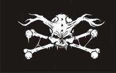 Піратський прапор Демон