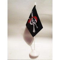 Піратський настільний прапорець