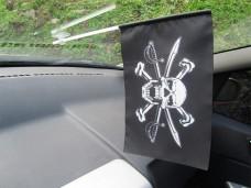Автомобільний піратський прапорець