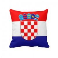 Декоративна Подушка прапор Хорватії