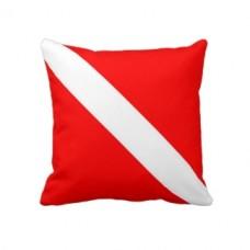 Декоративна подушка прапор Дайвінг