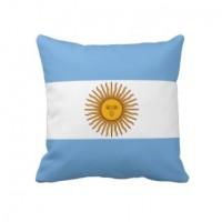 Декоративна подушка прапор Аргентини