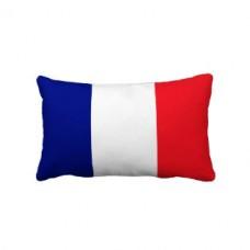 Купить Декоративна подушка прапор Франції в интернет-магазине Каптерка в Киеве и Украине