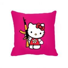 Купить Декоративна подушка Kalashnikitty в интернет-магазине Каптерка в Киеве и Украине