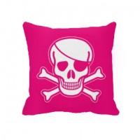 Декоративна подушка піратська (рожева)