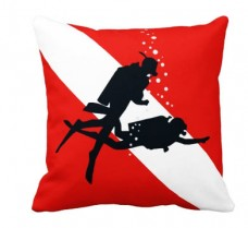 Декоративна подушка 2 дайвери