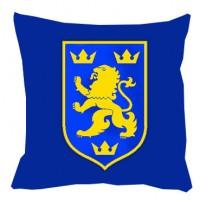 Декоративна подушка Галичина (синя)